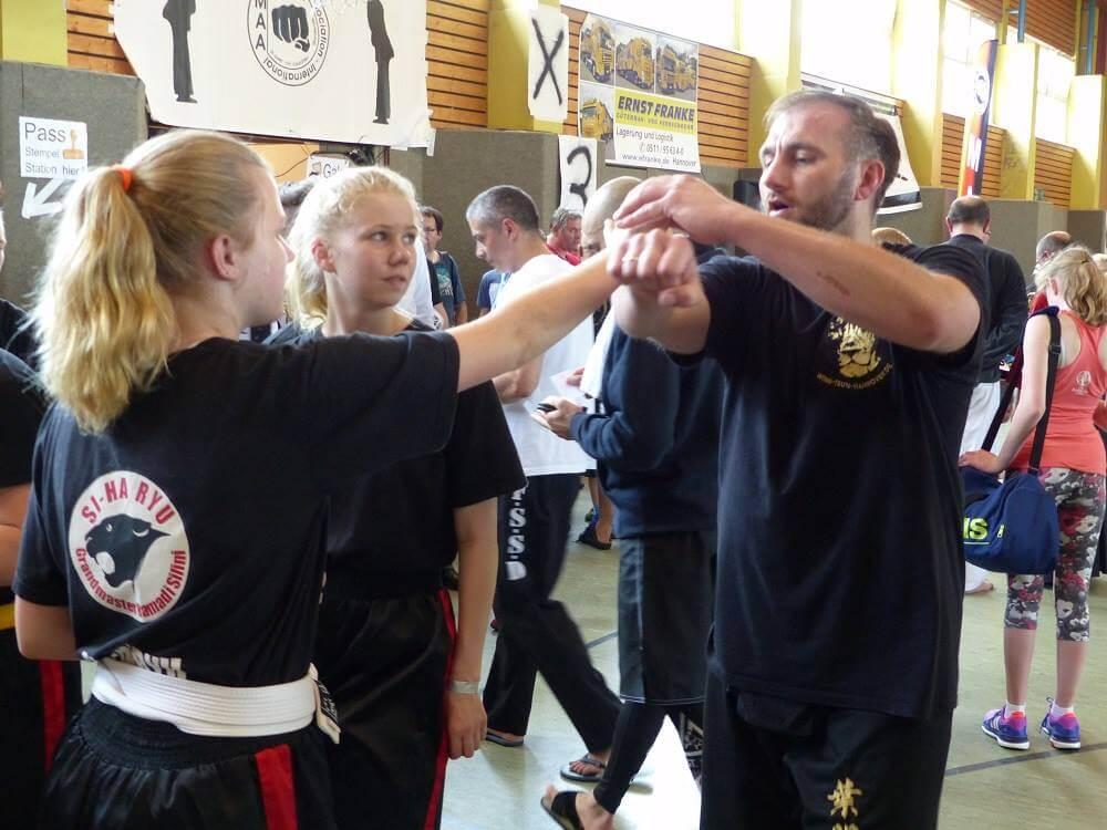 Wing Chun Sifu Michael
